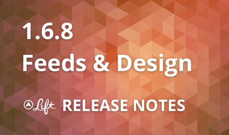 1.6.8 — Feeds & Design