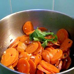 ginger carrots recipe
