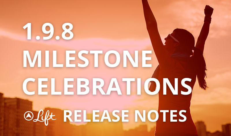 1.9.8 — Milestone Celebrations